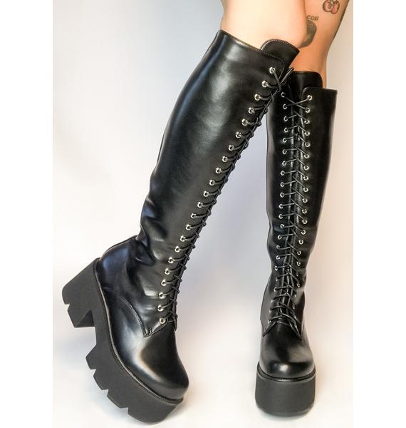 Lamoda Makin' Changes Knee High Boots