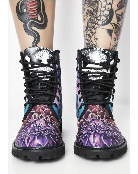 The Gate Of Knowledge Vegan Boots