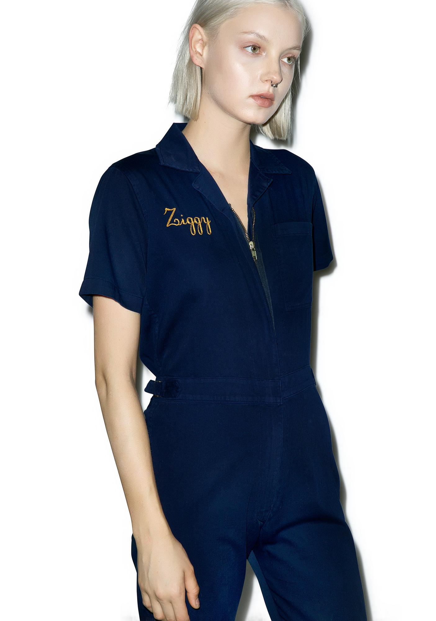 Sugarhigh + Lovestoned Stardust Embroidered Coveralls