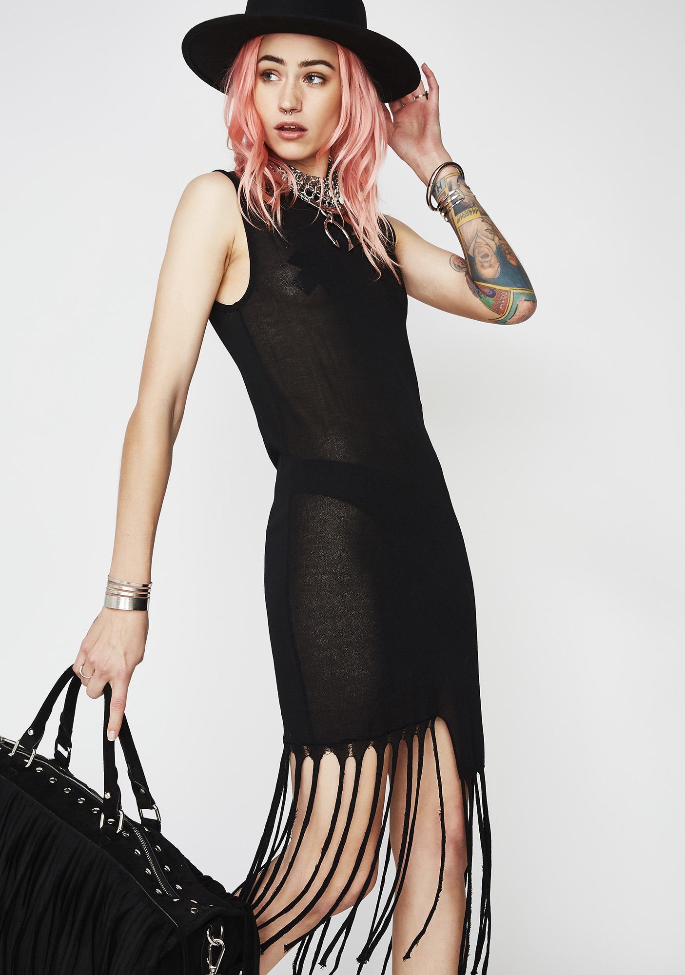 Freaky Friday Fringe Dress