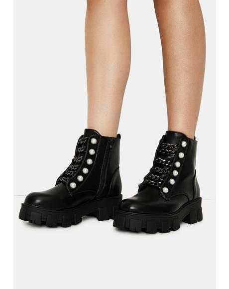 Fierce Hiker Ankle Boots