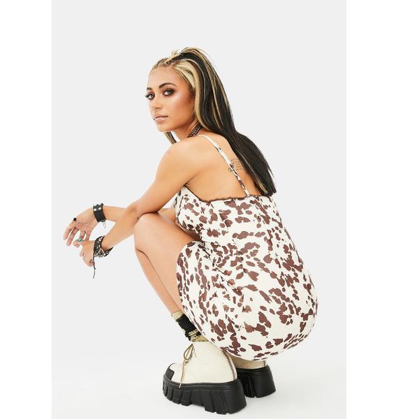 Re Named Lev Lace Cami Mini Dress