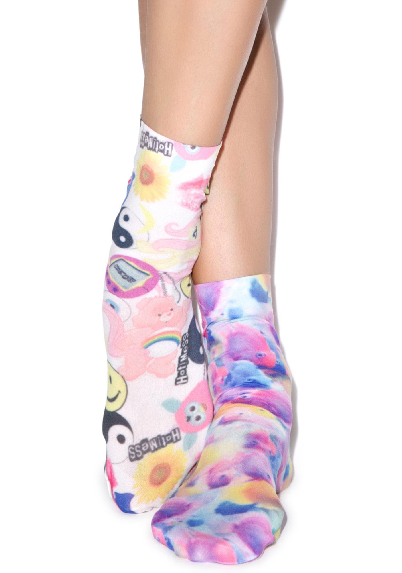 Hot!MeSS Toyshop & Fish Pop Socks Set
