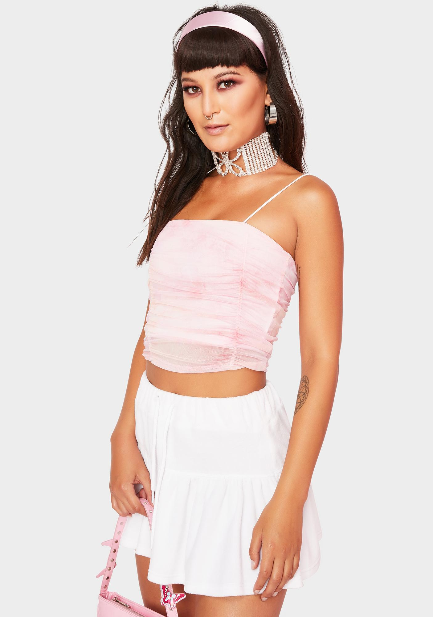 Forever Summer Ruched Tank Top