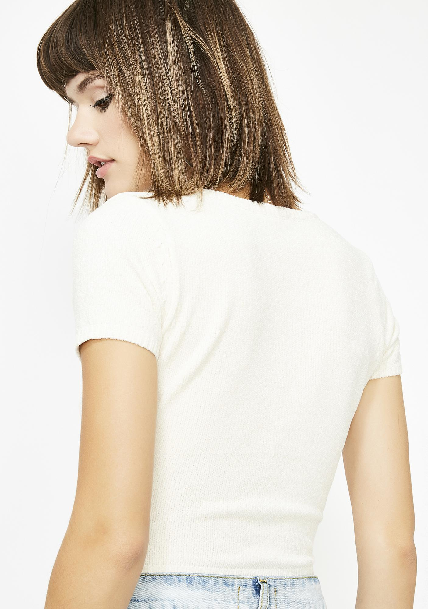 Pure A Lil Complicated Wrap Top