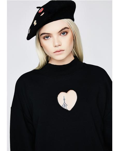 Heartcore Heart Sweatshirt