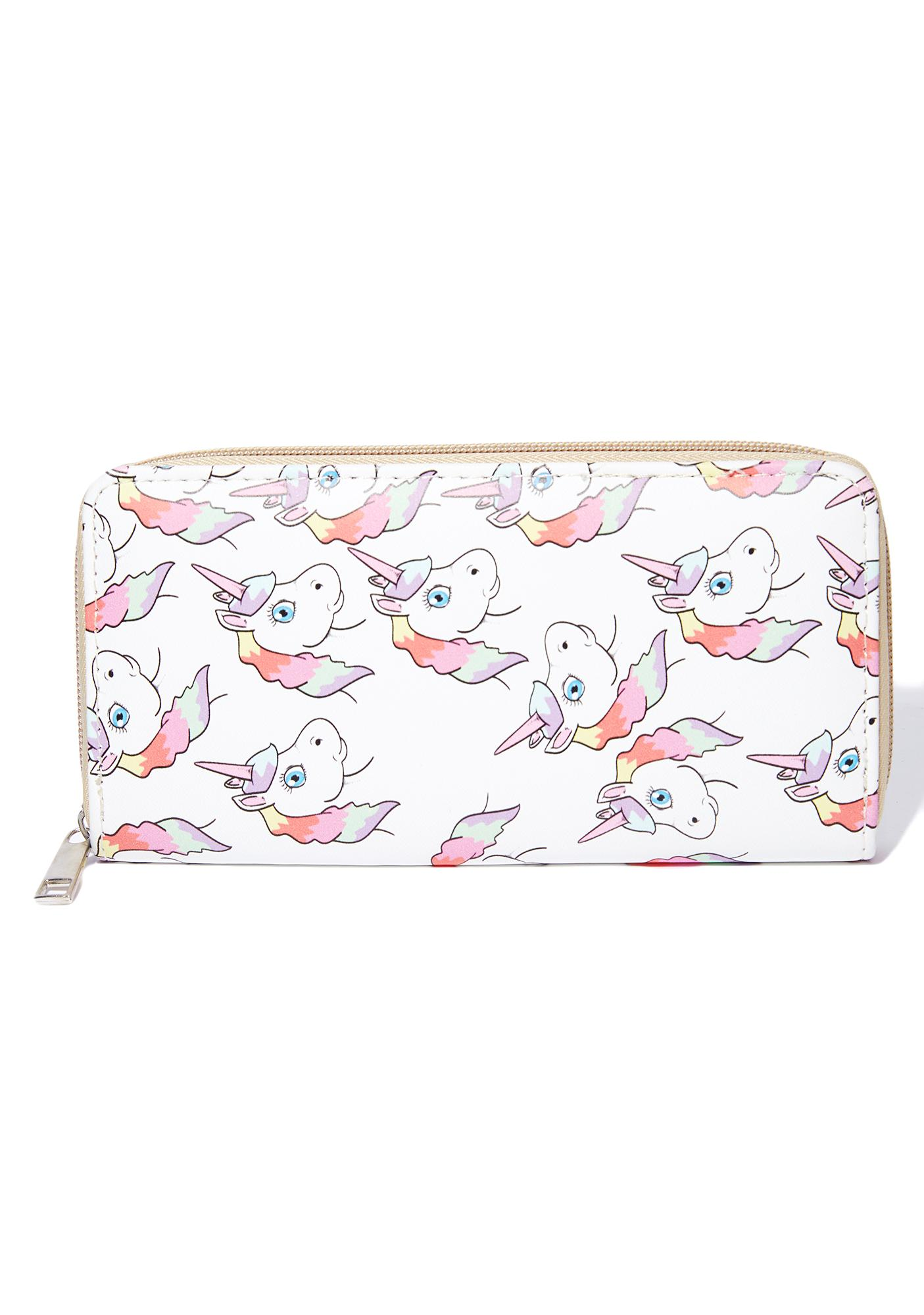 Magical Creature Unicorn Wallet