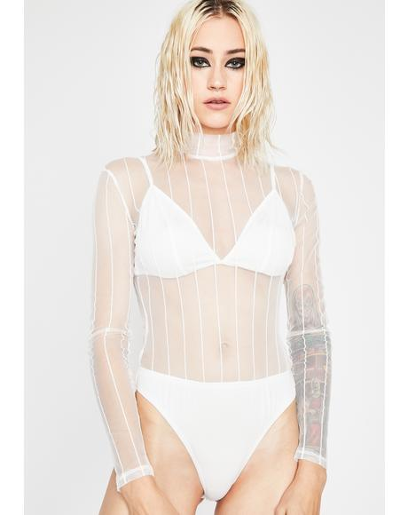 Sheer Thots Bodysuit Set