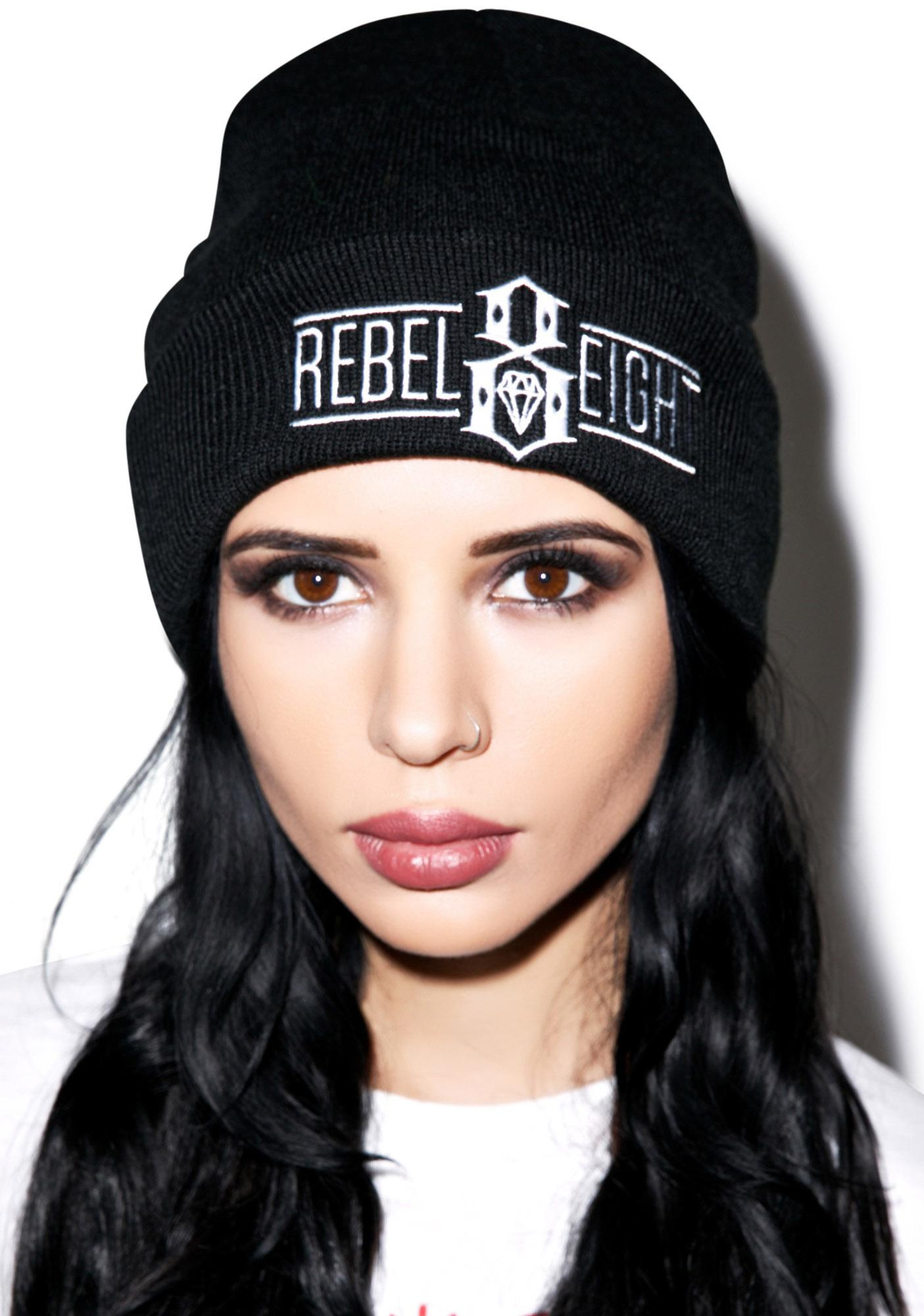 Rebel8 Logo Beanie