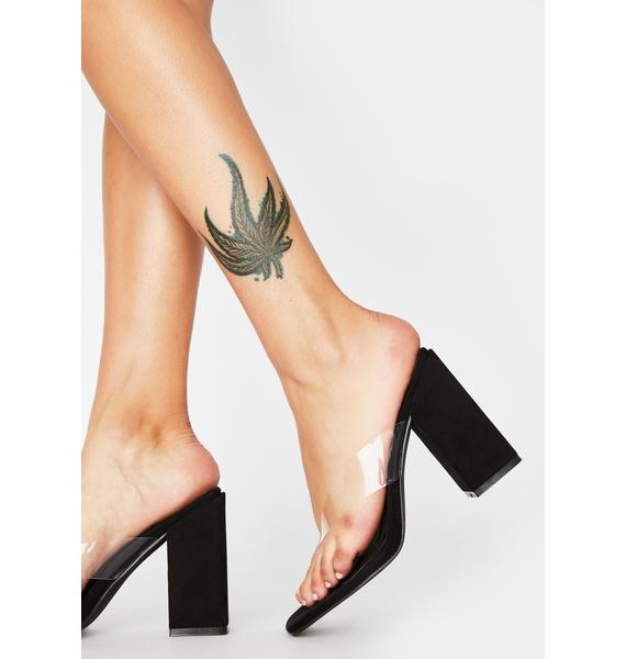 Sinful Fashion Fever Block Heels
