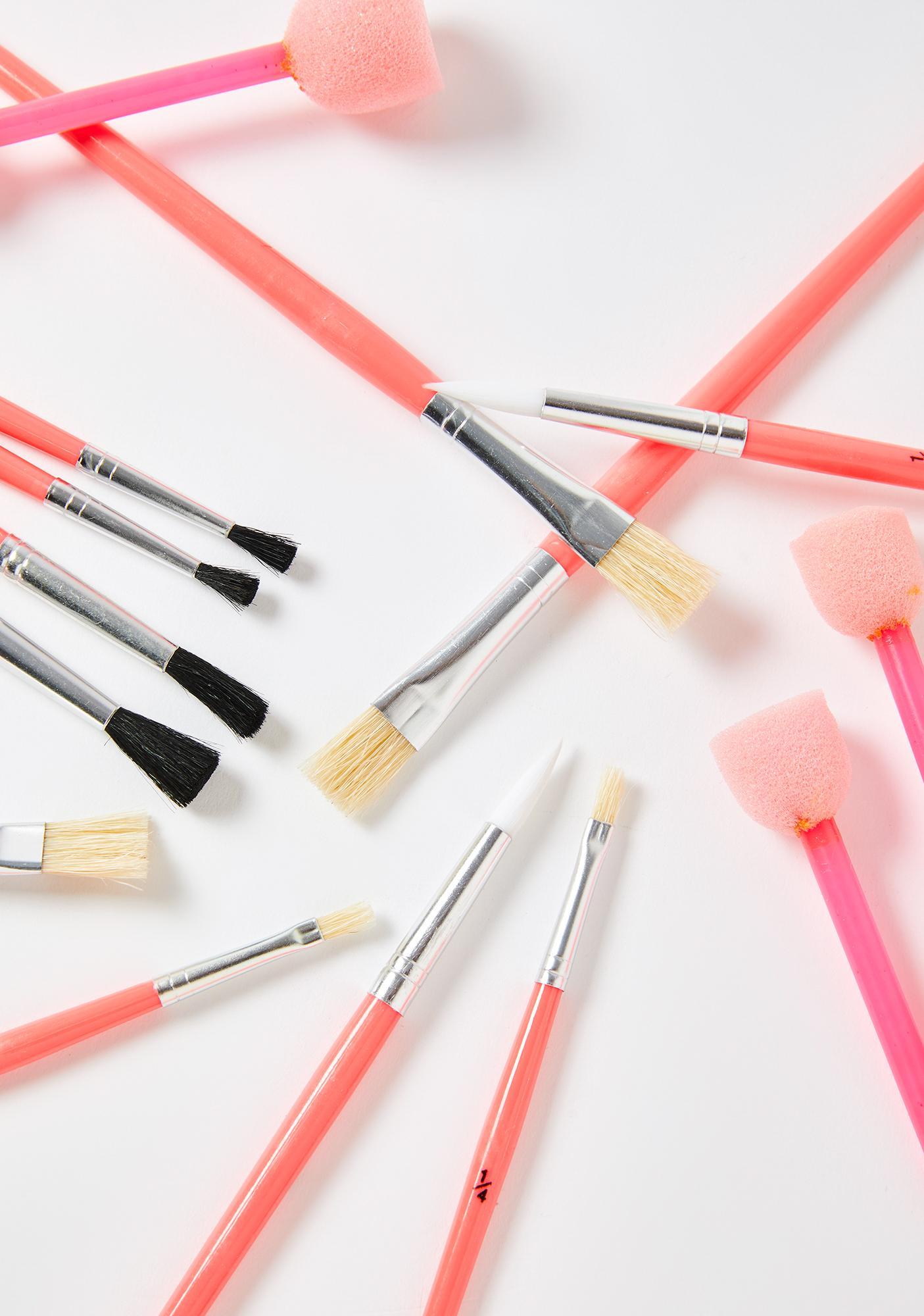 Unlock Your Creativity Paint Brush Set