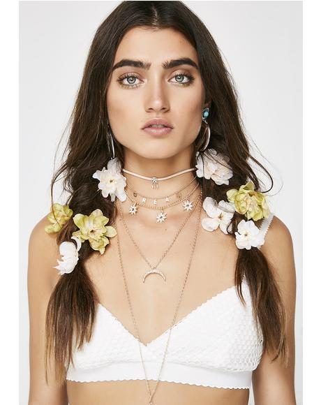 Head In The Clouds Choker