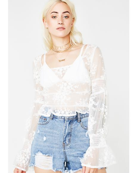 Fantasy Suite Sheer Top