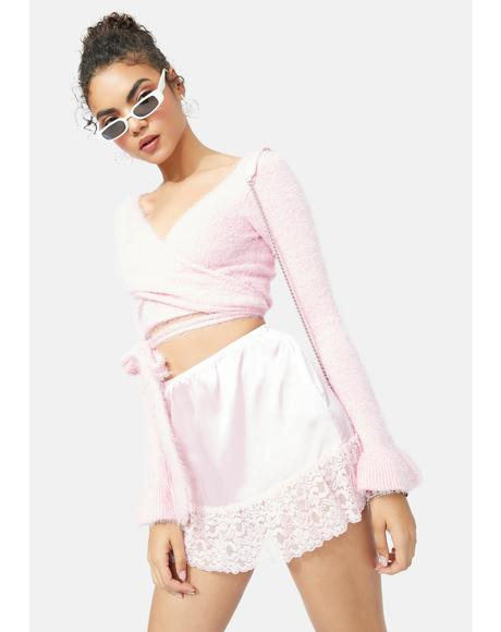 The Mabel Lace Mini Skirt