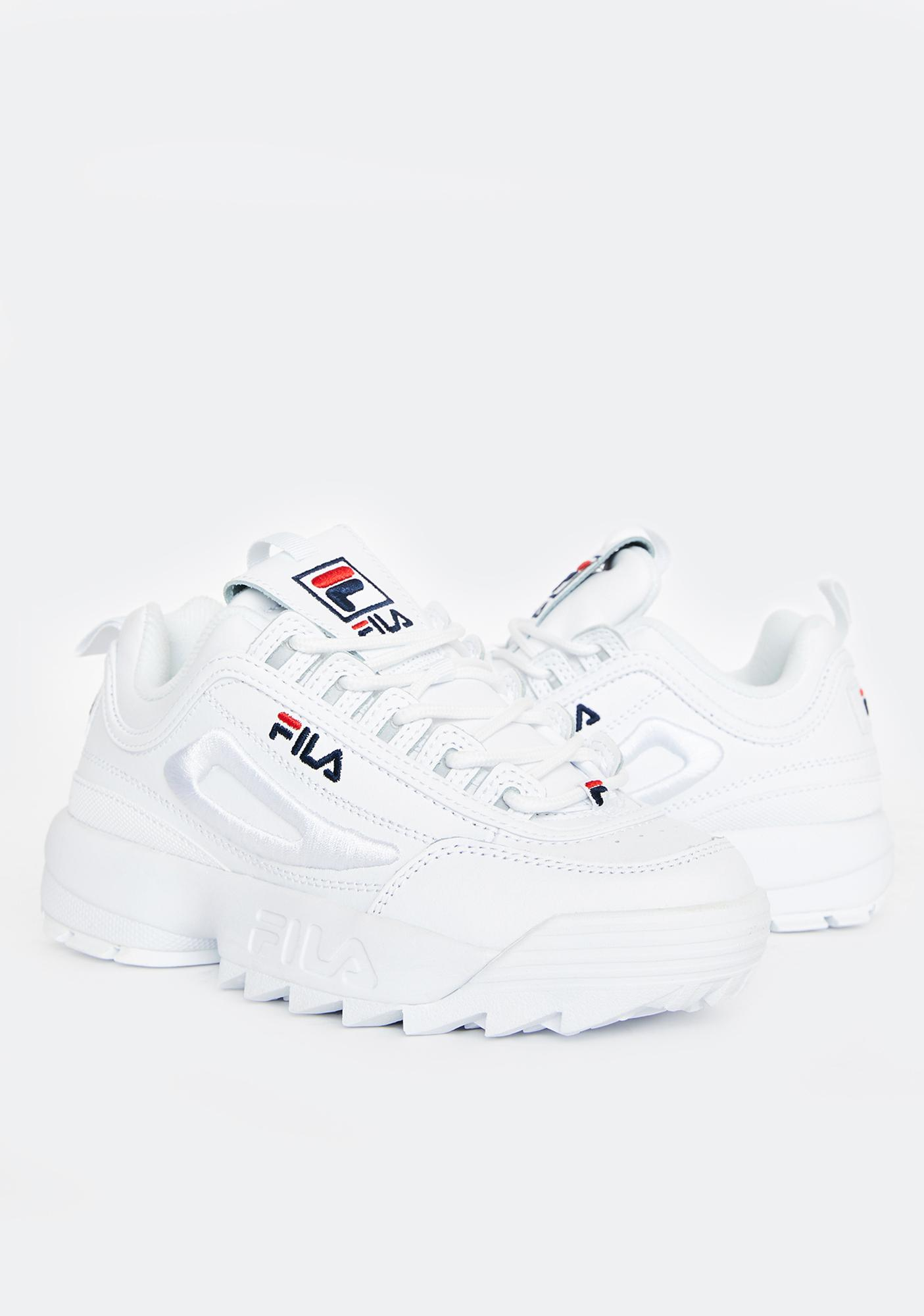 Fila Disruptor 2 3D Embroidered Sneakers