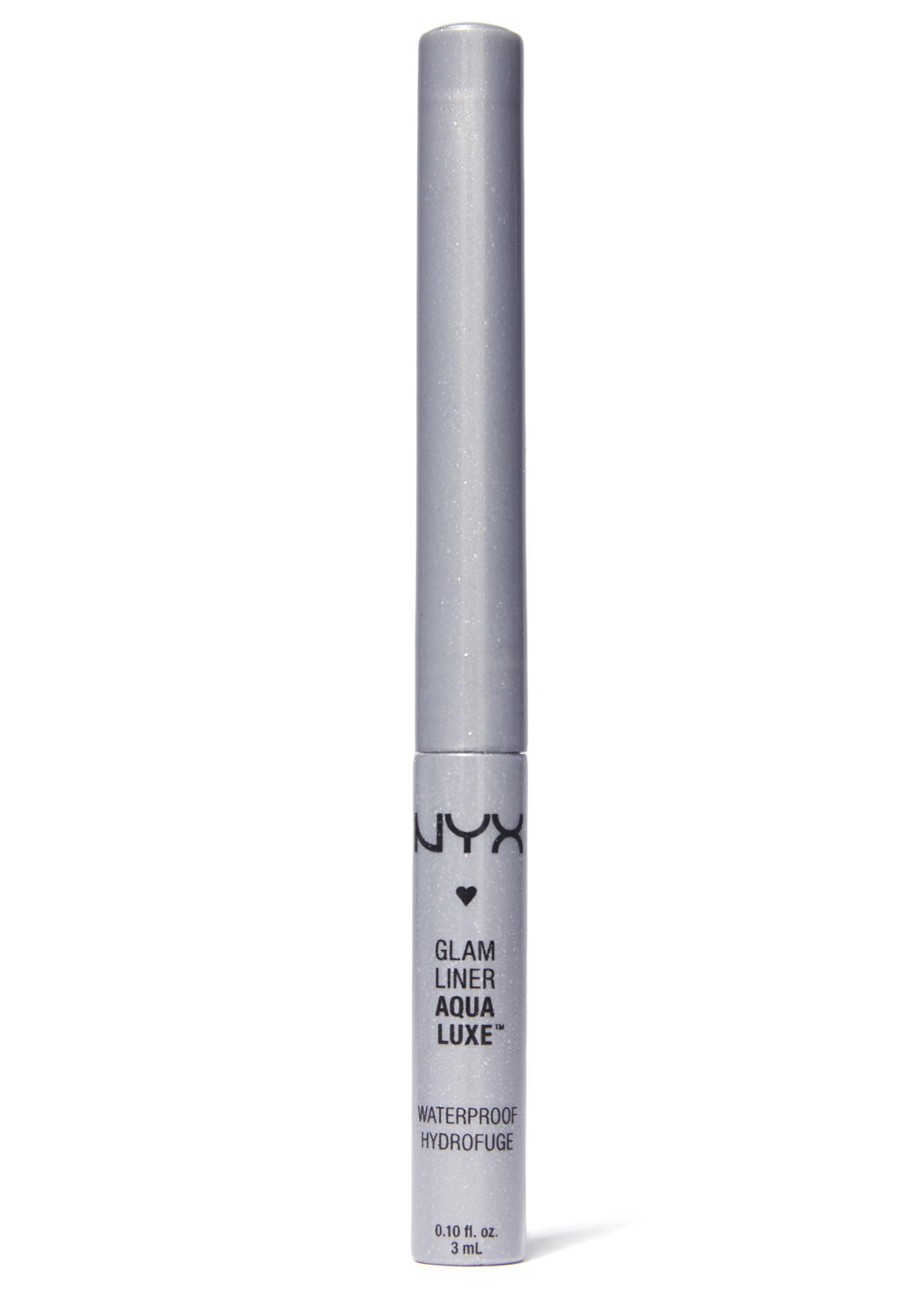NYX Platinum Aqua Luxe Glam Liner