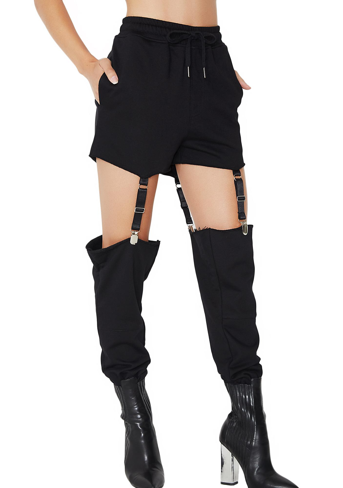 Poster Grl Roulette Suspender Sweatpants