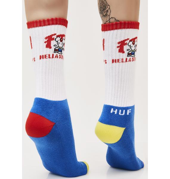 HUF FTW Stoops Crew Socks