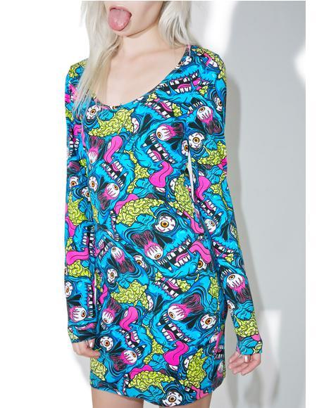 Eyeballin' Bodycon Dress
