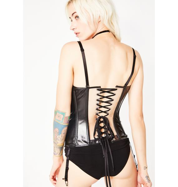 Tell No One Clear Corset