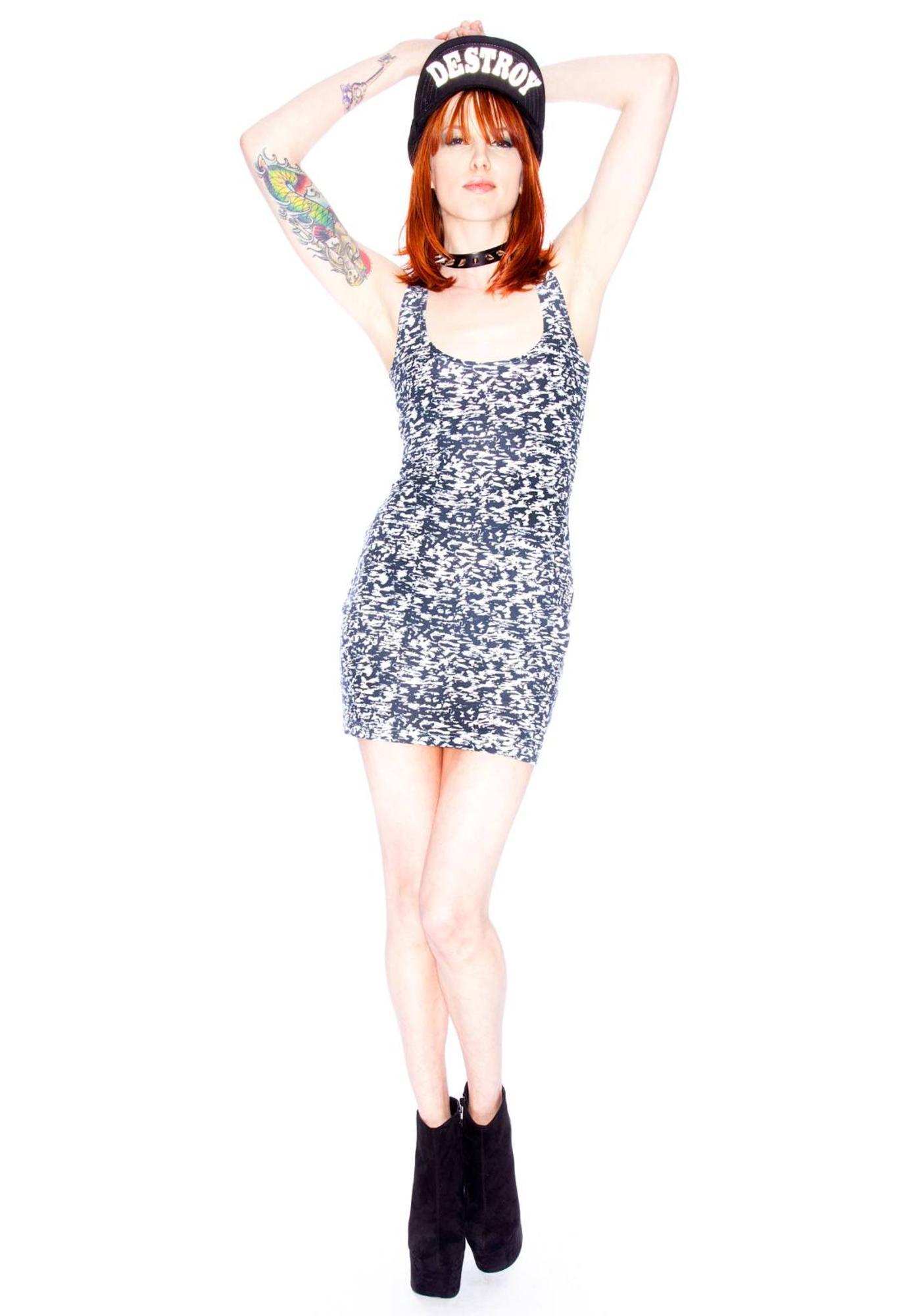 Insight Ink Blot Dress