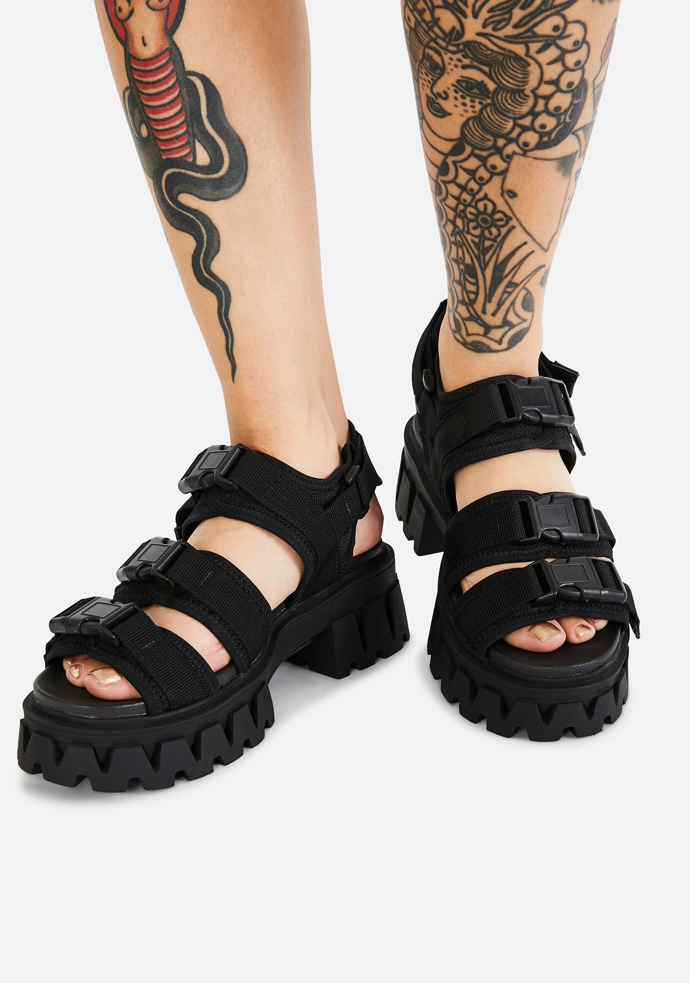 Koi Footwear Forlorn Buckle Sandals