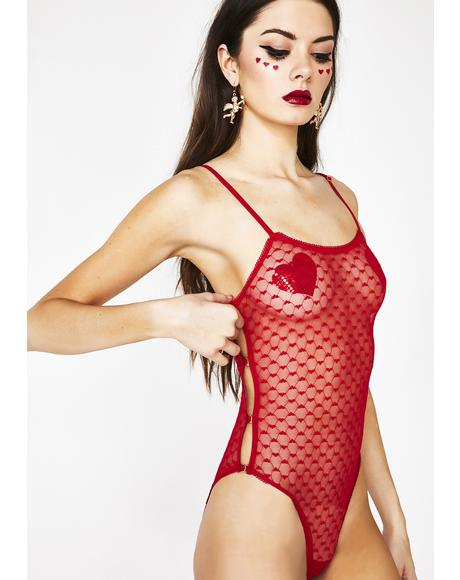 Passion Paradise Mesh Teddy