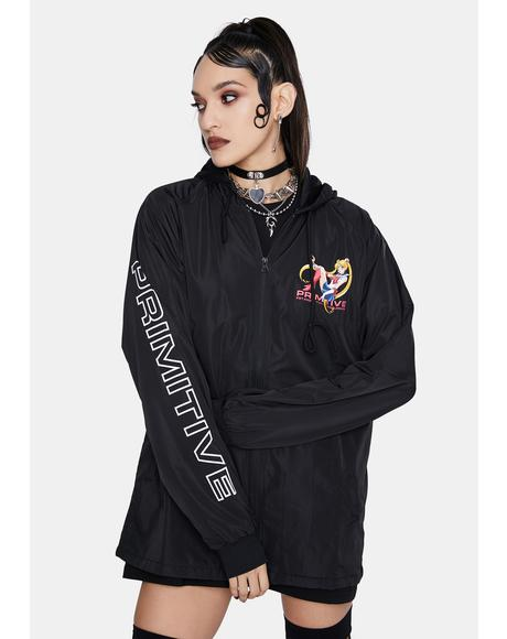 Sailor Moon Guardian Hooded Windbreaker