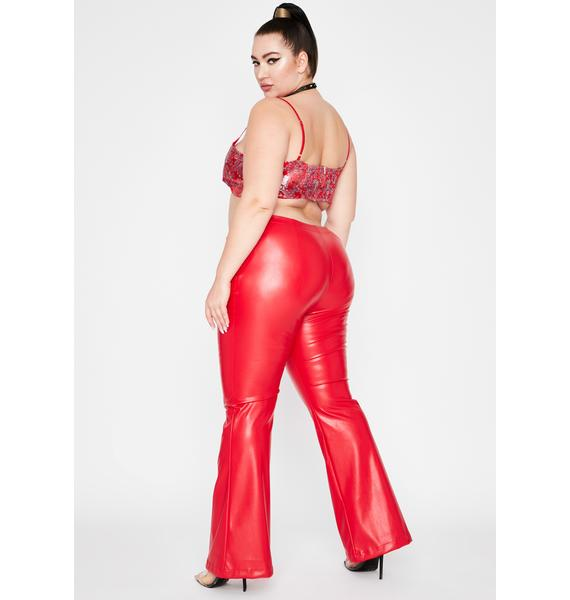 Hot Lux Dreamer District Flare Pants