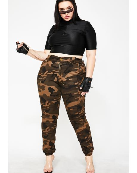 Army In Flight Cargo Pants