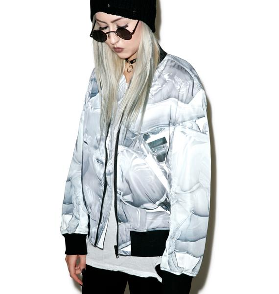 Long Clothing X Pussykrew Bomber Jacket