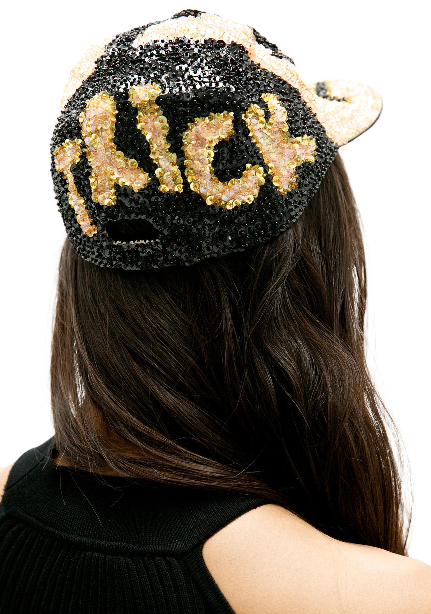 Trick Or Treat Sequin Hat