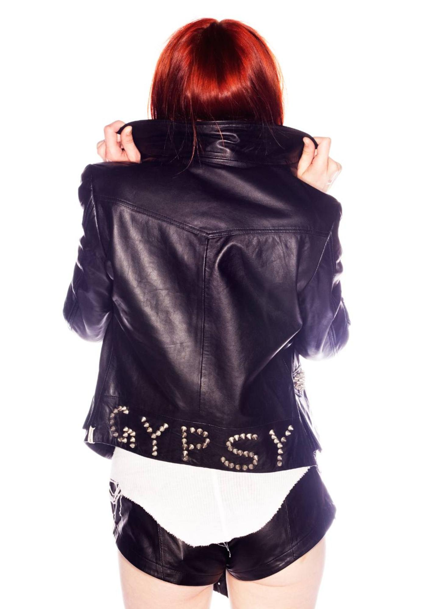 One Teaspoon Gypsy Leather Jacket