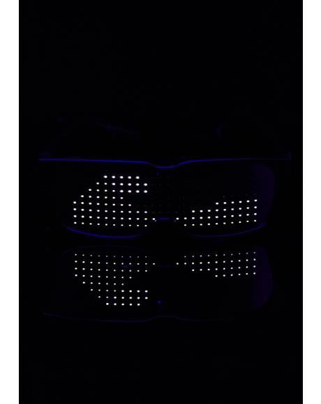 LED Bluetooth Glasses