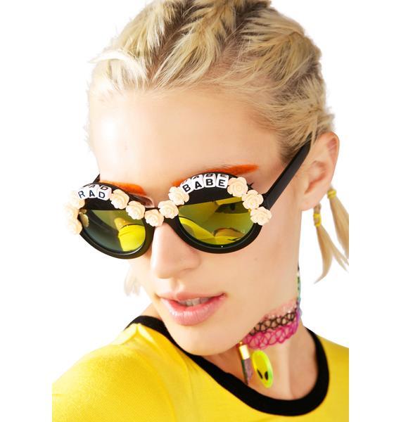 Rad and Refined Rad Babe Sunglasses