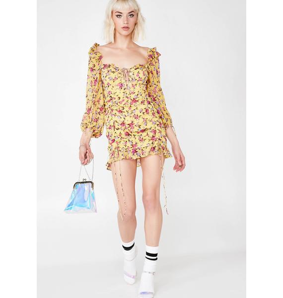 For Love & Lemons Beaumount Mini Dress