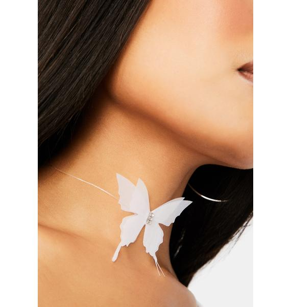 The Great Escape Butterfly Choker