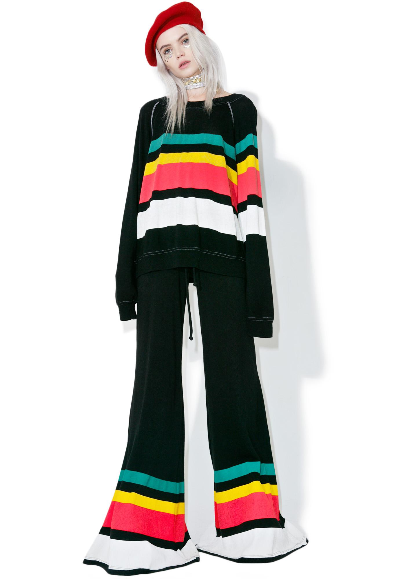 Wildfox Couture 70s Stripe Bottoms