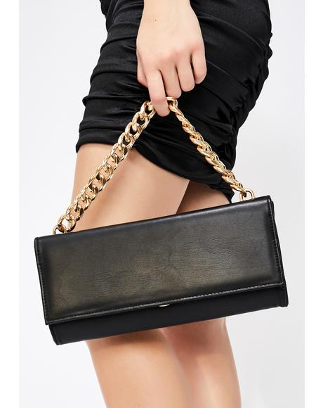 Friday Night Chain Clutch