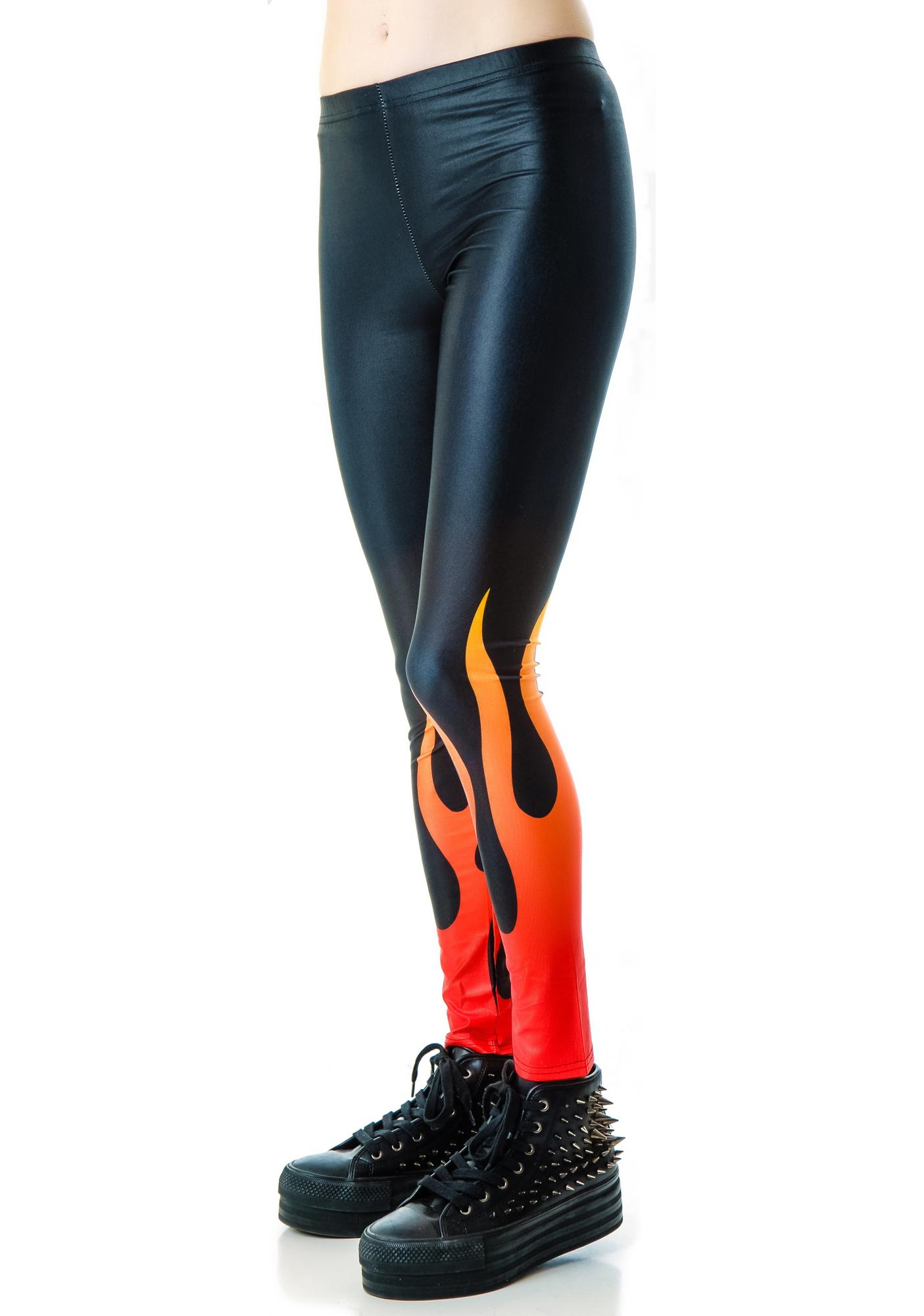 In Flames Leggings