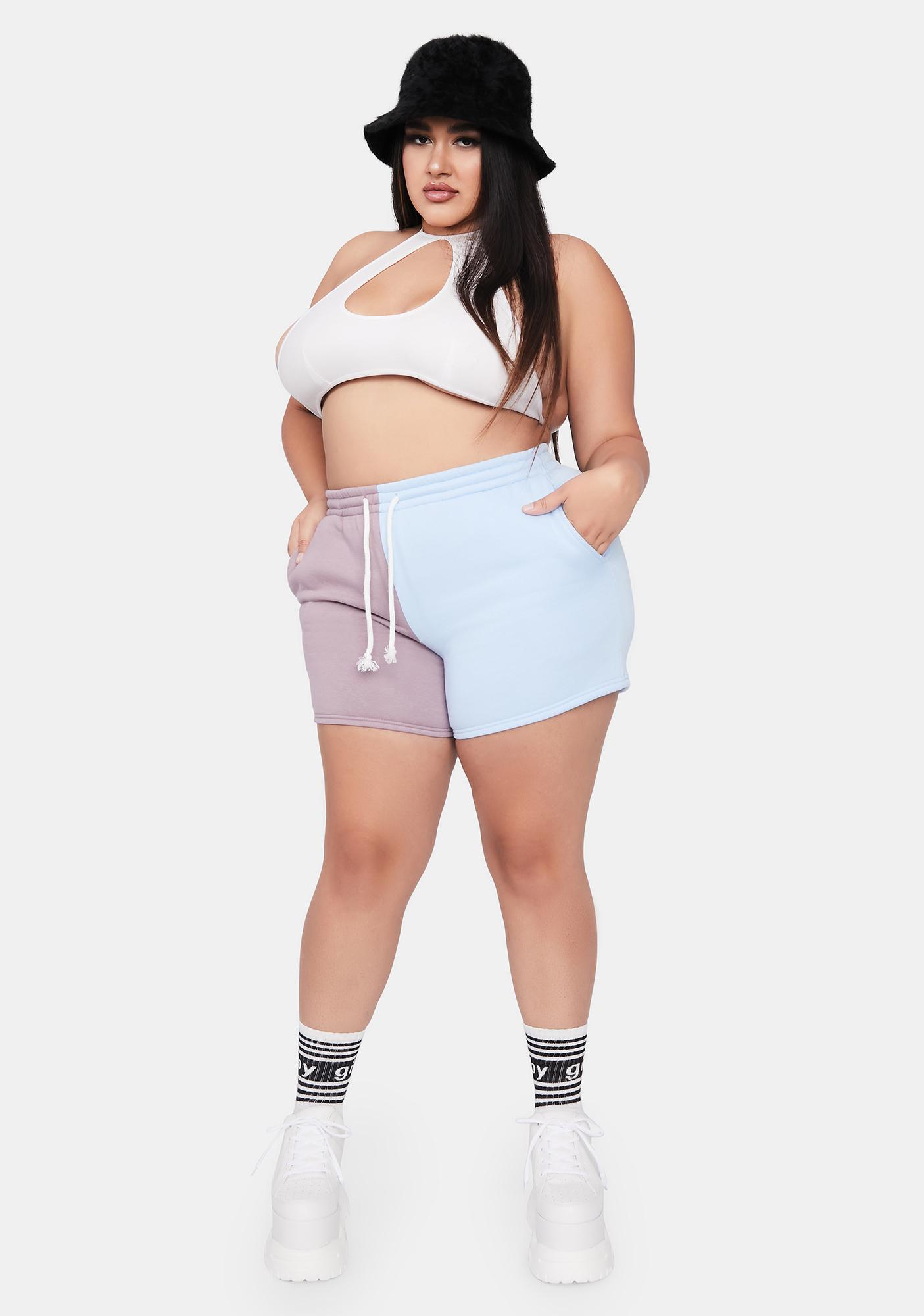 Miss Sky Winning Point Sweat Shorts