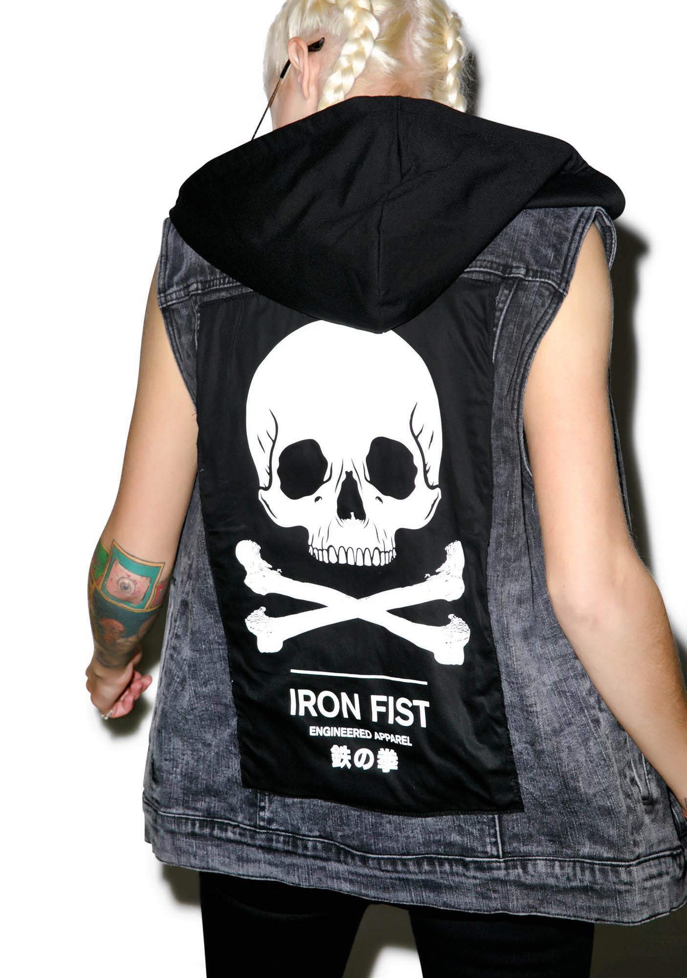 Iron Fist Engineered Sleeveless Trucker Vest