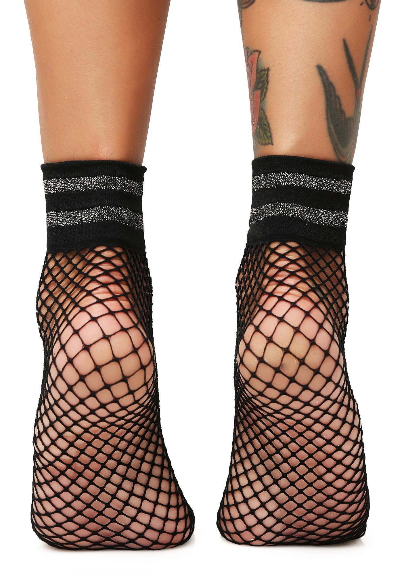 Sneak Around Fishnet Socks