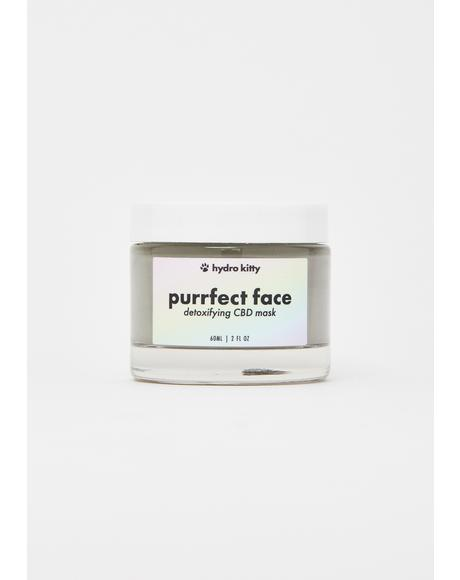 Purrfect Face Detoxifying CBD Creme Mask