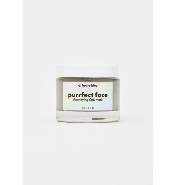 Hydro Kitty Purrfect Face Detoxifying CBD Creme Mask