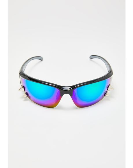 Sky Spike Sport Revo Sunglasses