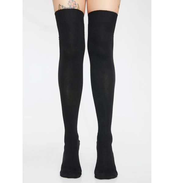 Deadly Doll Over The Knee Socks