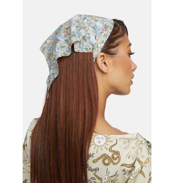 What Really Matters Floral Headband
