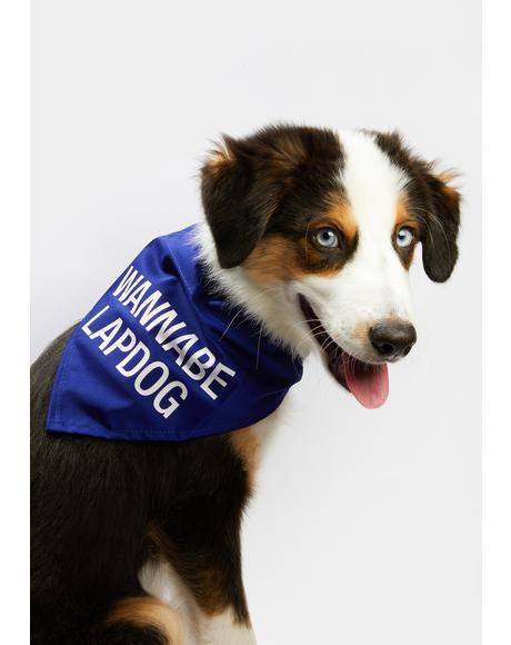 Wannabe Lap Dog Large Dog Bandana