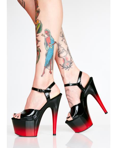 Kat Stacks Adore Platform Heels